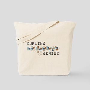 Curling Genius Tote Bag