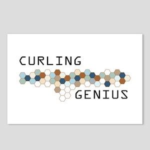 Curling Genius Postcards (Package of 8)