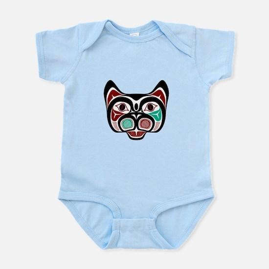 Northwest Pacific coast Haida Kitty Body Suit