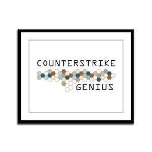 CounterStrike Genius Framed Panel Print