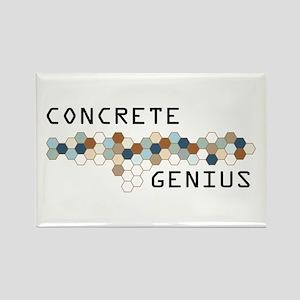 Concrete Genius Rectangle Magnet