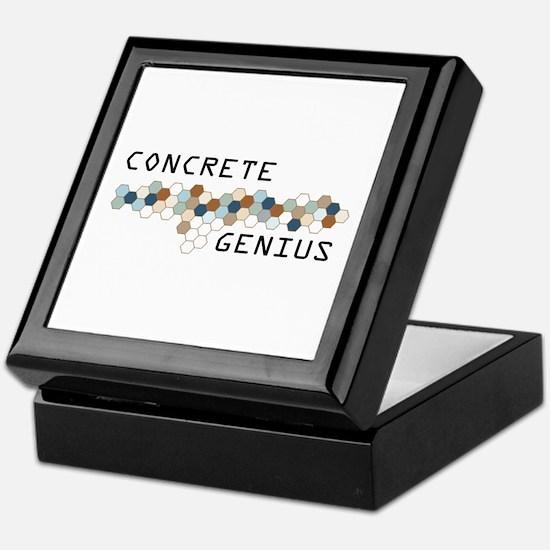Concrete Genius Keepsake Box