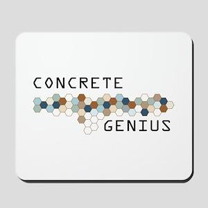 Concrete Genius Mousepad