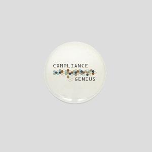 Compliance Genius Mini Button