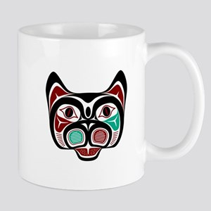 Northwest Pacific coast Haida Kitty Mugs