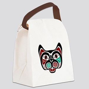 Northwest Pacific coast Haida Kitty Canvas Lunch B