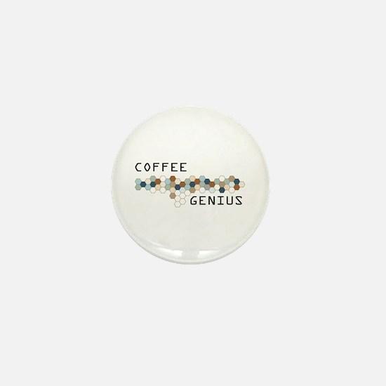 Coffee Genius Mini Button