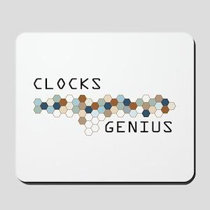 Clocks Genius Mousepad