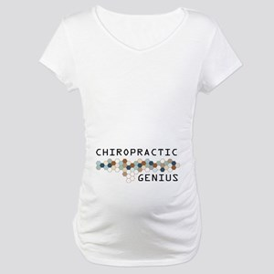 Chiropractic Genius Maternity T-Shirt