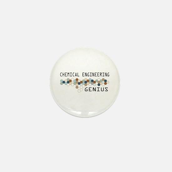 Chemical Engineering Genius Mini Button