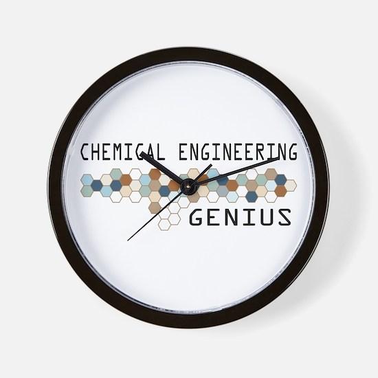 Chemical Engineering Genius Wall Clock