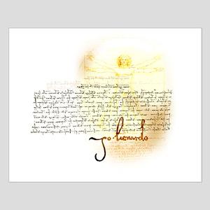Mark's of da Vinci Small Poster