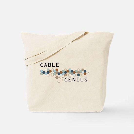 Cable Genius Tote Bag