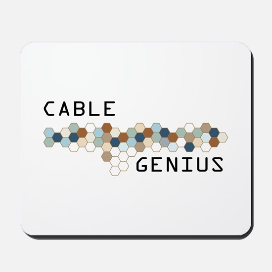 Cable Genius Mousepad