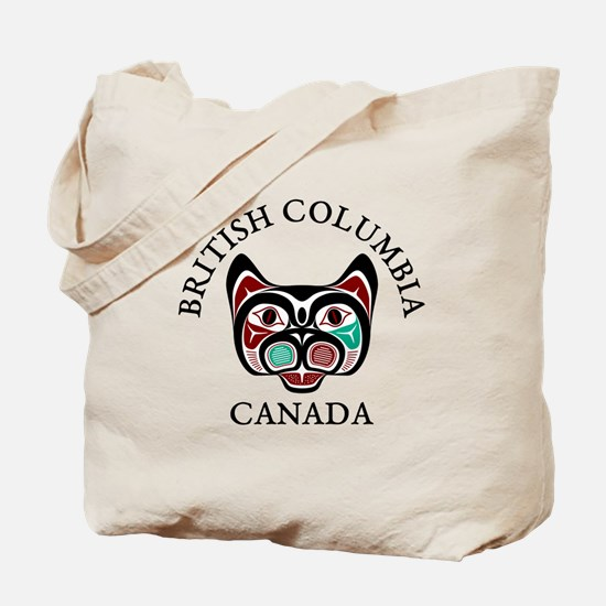 British Columbia Haida Kitty Tote Bag