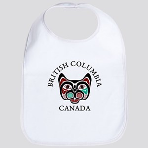 British Columbia Haida Kitty Baby Bib