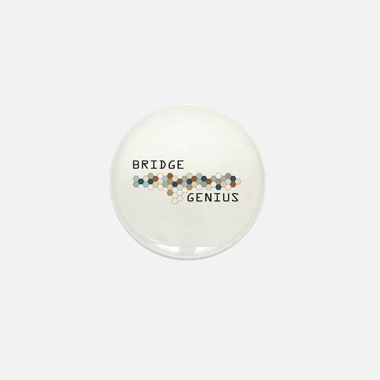 Bridge Genius Mini Button