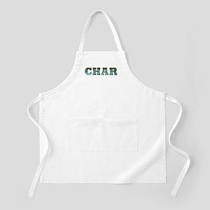 CHAR Word BBQ Apron