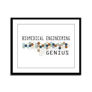 Biomedical Engineering Genius Framed Panel Print