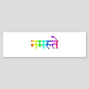 Namaste Bumper Sticker (50 pk)
