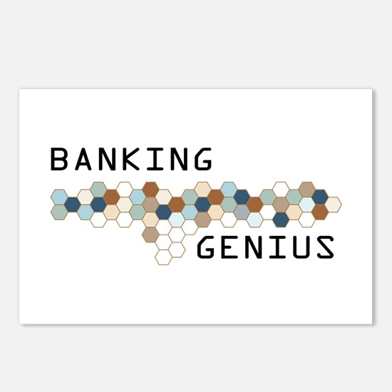 Banking Genius Postcards (Package of 8)