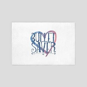 Bullet saver 4' x 6' Rug