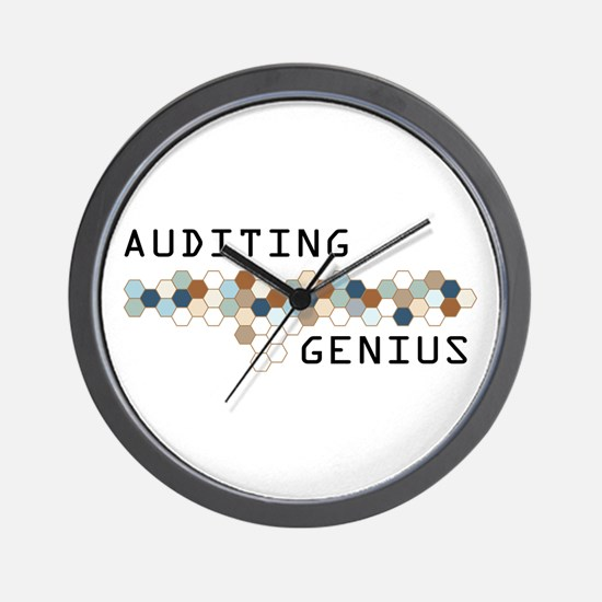 Auditing Genius Wall Clock