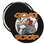 Black Goat Soup Logo 2 Magnets
