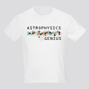 Astrophysics Genius Kids Light T-Shirt