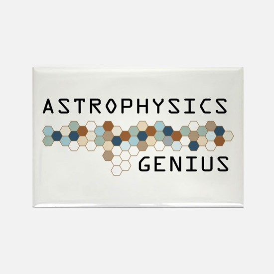 Astrophysics Genius Rectangle Magnet