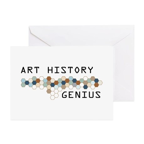Art History Genius Greeting Cards (Pk of 20)