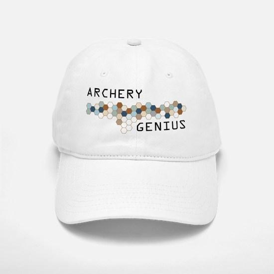 Archery Genius Baseball Baseball Cap