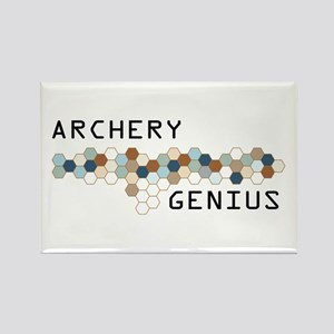 Archery Genius Rectangle Magnet