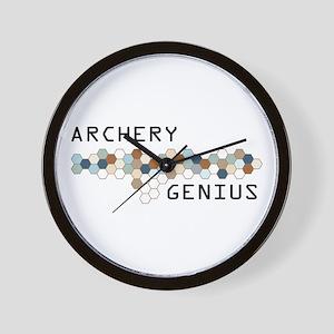 Archery Genius Wall Clock