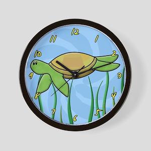 Cute Sea Turtle Clock