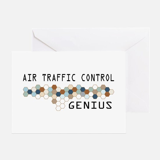 Air Traffic Control Genius Greeting Card