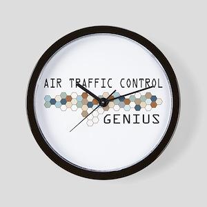 Air Traffic Control Genius Wall Clock