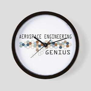 Aerospace Engineering Genius Wall Clock