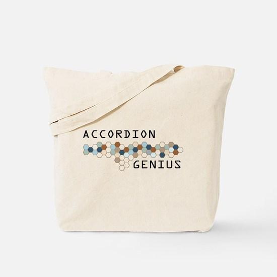 Accordion Genius Tote Bag