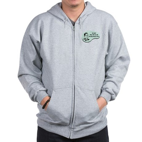 Anesthesiologist Voice Zip Hoodie