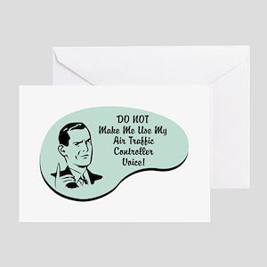 Air Traffic Controller Voice Greeting Card