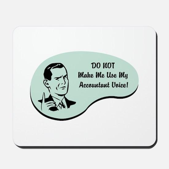 Accountant Voice Mousepad