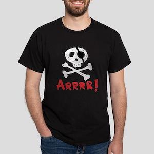 Arrrr! Funny Pirate Dark T-Shirt