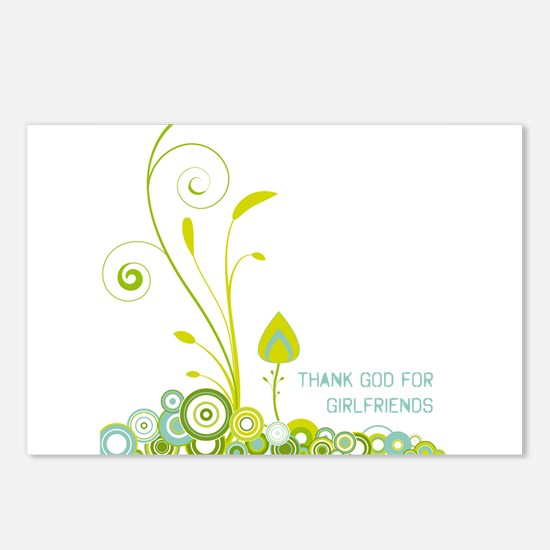 Cute Sustainable Postcards (Package of 8)