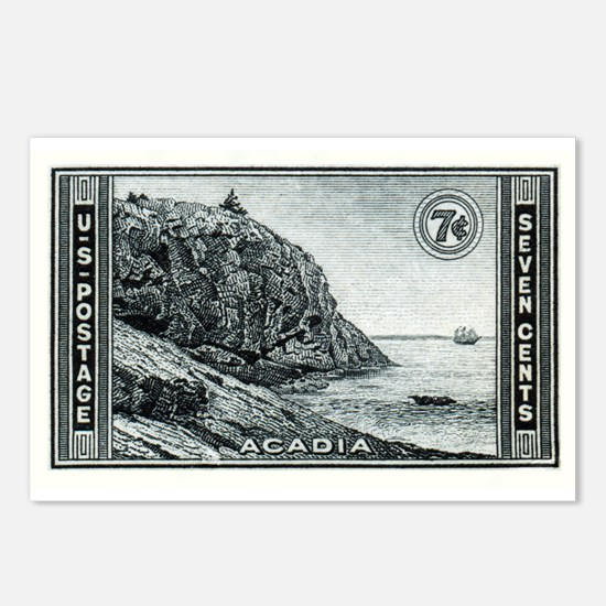 Philately Postcards (Package of 8)