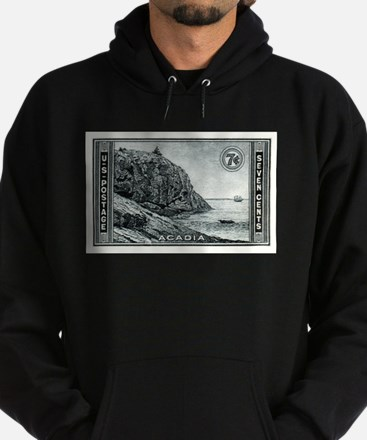Unique National parks vintage Hoodie (dark)