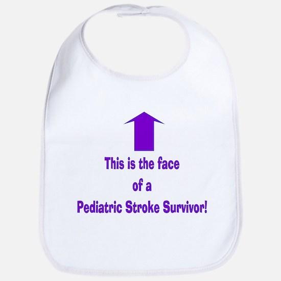 The face of pediatric Stroke Bib
