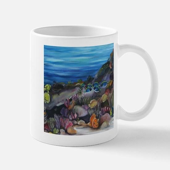 Coral Reef Nursery Mug