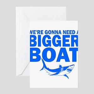 BiggerBoatJaws Greeting Cards
