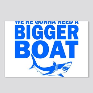 BiggerBoatJaws Postcards (Package of 8)
